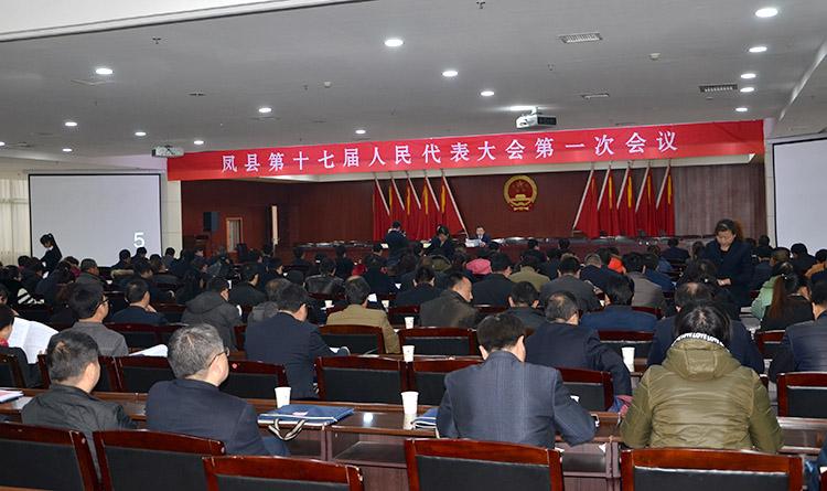 凤县第十七届人民代表大会第一次会议召开预备会议