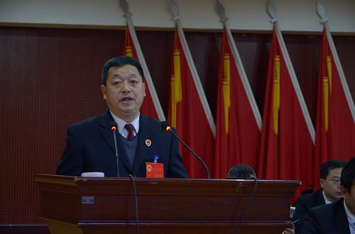 检察长邓武作凤县检察院工作报告