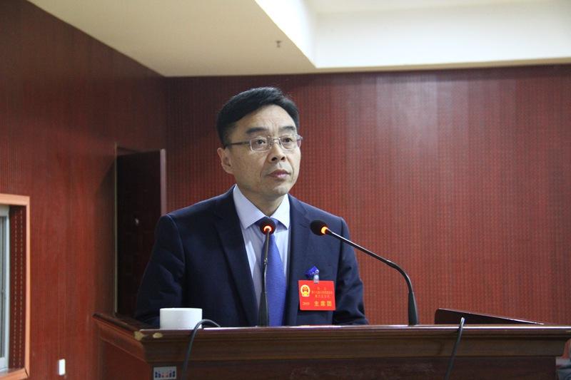 县长张扬在十七届人大三次会议上作政府工作报告