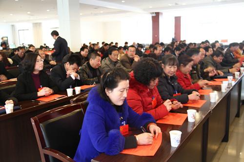 凤县第十六届人大五次会议选举县人大常委会副主任